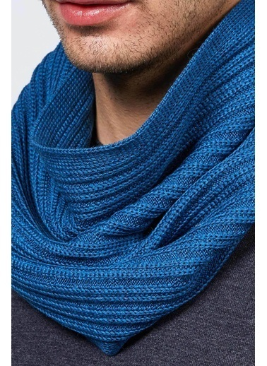 Hemington Atkı Mavi